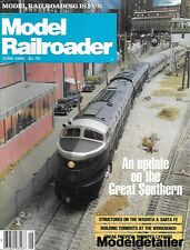 Model Railroader June 83 Southern Lehigh Caboose Valley Santa Fe Turnouts AT&SF
