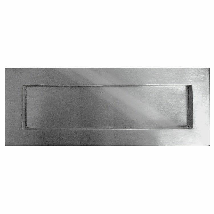 Letter Plate (330x100mm) Satin Stainless Steel Finish