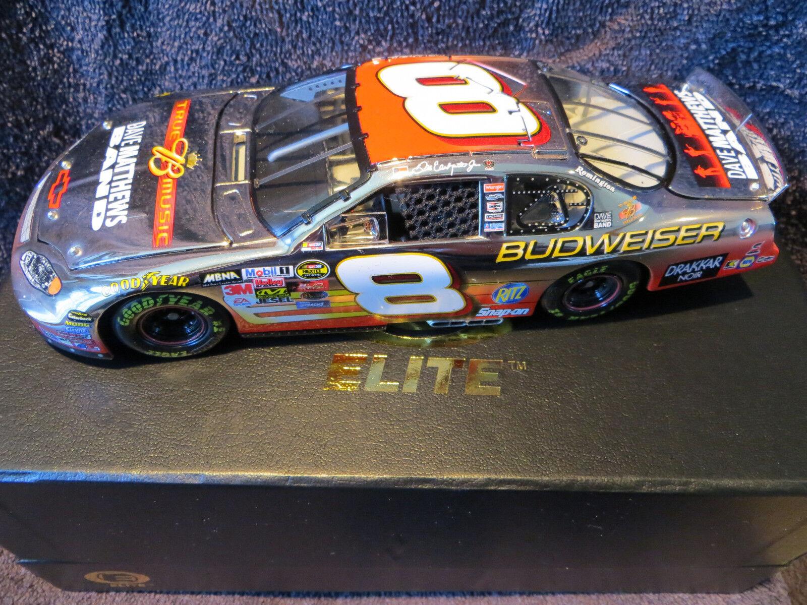 Dale Earnhardt Jr  360 PLATINUM Budweiser   Dave Matthews 2004 1 24 Elite