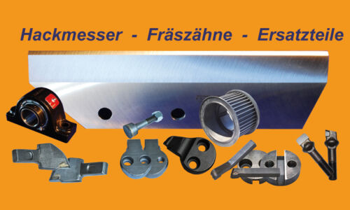 550 Hackmesser 353x123x11,5 für Schliesing Häcksler 500 600 660