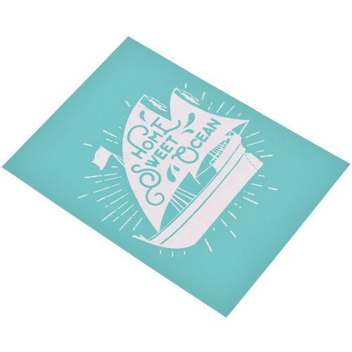 Self-Adhesive Silk Screen Printing Mesh Transfers DIY T-shirt Stoffe Bügelbilder
