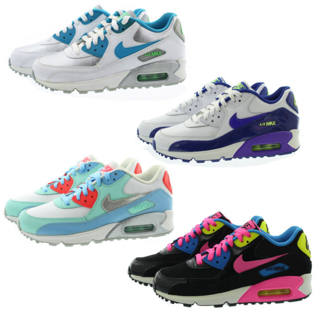 7b09c557d1f67 Nike 724852 Kids Youth Boys Girls Air Max 90 Low Top Running Shoes Sneakers