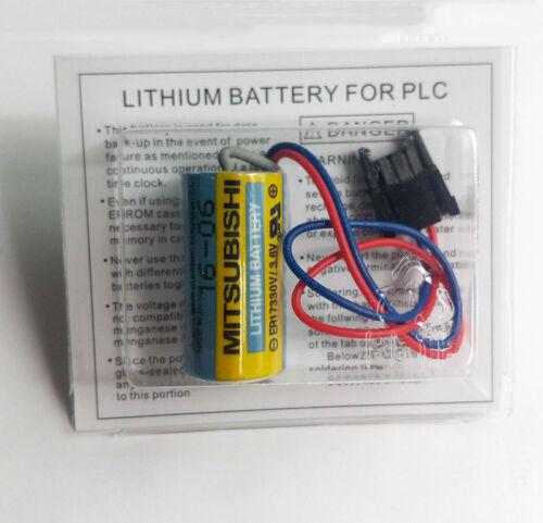 20PCS Mitsubishi A6BAT ER17330V PLC Battery Size 2//3A 3.6V Li-ion Battery USA