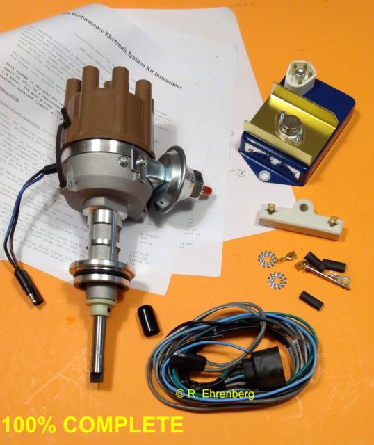 MOPAR 318 340 360 HiRev Electronic Ignition Kit Resto OEM Plymouth Dodge Chrys