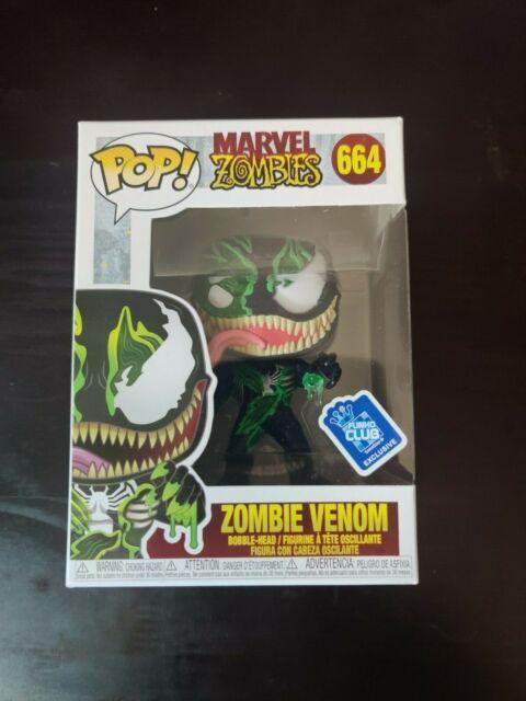 Zombie Venom Funko Club   GameStop Excl 664 Funko Marvel Zombies Pop IN HAND