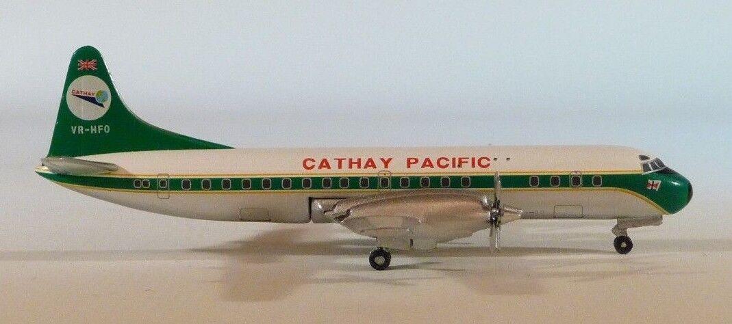 precios bajos todos los dias 1 1 1 400 Caja verde Modelos Cathay Pacific L-188A Electra  minoristas en línea