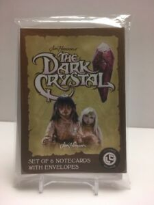 Jim Henson's The Dark Crystal Loot Crate Exclusive Notecard Set of 6