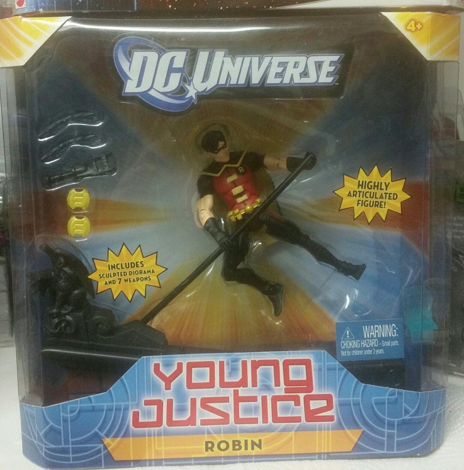 Dc - universum jung justiz robin 6