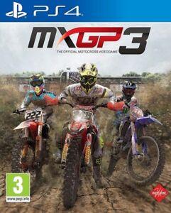 MXGP 3 PS4 * NEW SEALED PAL *