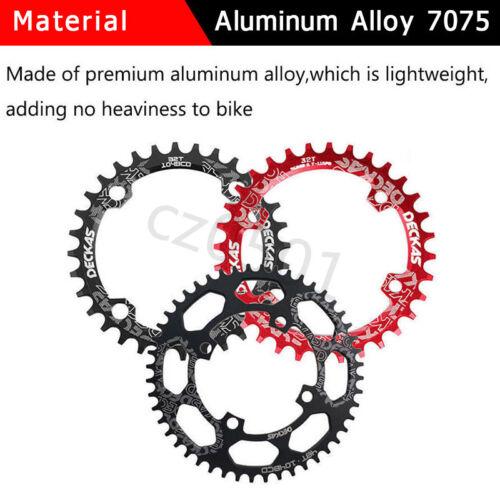 DECKAS 104bcd Narrow Wide MTB Bike Chainring Round//Oval 32-52t Single Chainwheel