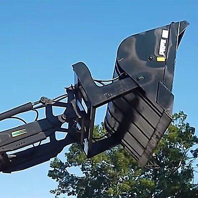 Ambitious Kellfri Hi Toe Tip Loading Shovel/tractor Bucket £1590+vat At All Costs Other Heavy Equipment Attachments