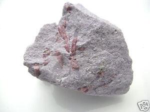 Edelsteine-Rohsteine-Natur-Turmalin-rosa-Nadeln-Mineralien-Afrika-334gr