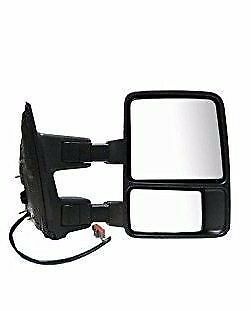 Passenger Side Mirror for Ford F250 F350 F450 Manual Unheated Towing w//o Signal