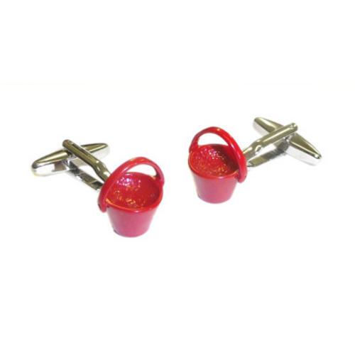 Rojo Cubos Mancuernas bolsa De Regalo-De Bombero