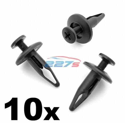 10x JAGUAR Passaruota Fodera /& davanzale stampaggio clip-Foro 6.5mm c2s9354020