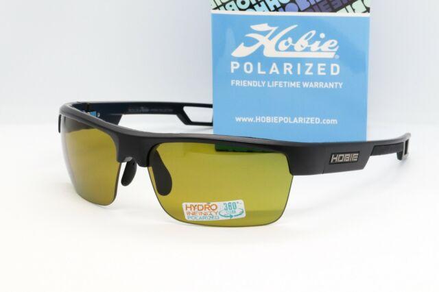 e4c99aeca6 Hobie Eyewear Manta Sunglasses Satin Black Polarized SIGHTMASTER ...