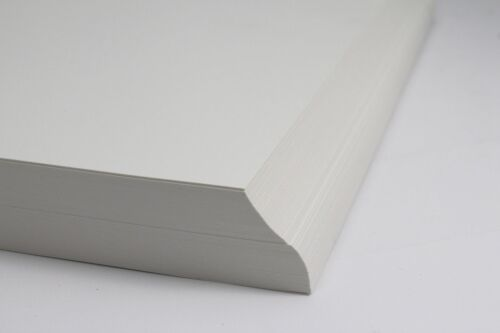 A5 A4 OR A3 SMOOTH NATURAL OFF-WHITE 120gsm OR 160gsm PRINTING PAPER OR CARD.