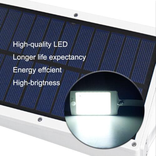 48LED Solar PIR Motion Sensor Wall Light Outdoor Yard Street Remote Control  !
