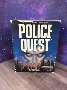Police-Quest-In-Pursuit-of-Death-Angel-COMPLETE-RARE-Sierra-PC-DOS-Remake