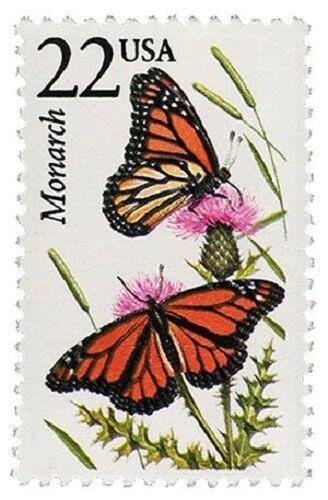 1987 22c Monarch Butterfly, North American Wildlife Sco