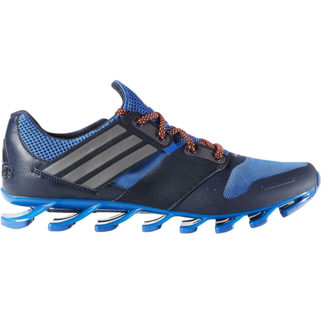 reputable site 878e1 77631 adidas Performance Mens Springblade Solyce Sport Running Trainers Shoes -  Navy