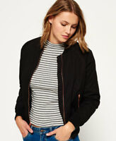 Superdry Womens Alia Bomber Jacket (Black)