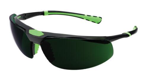 Univet 5X3 High Technology Welding Glasses IR5 Shade 5 Lens 5X3.03.35.50
