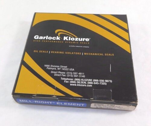 "Garlock Klozure Oil Seal 4.5/"" x 5.25/"" x 0.375/"" 24699-0164"