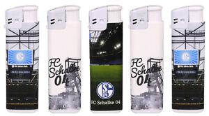 Reusable Piezo lighter FC Schalke 04 Belabelt/3fach Assorted/50 Piece