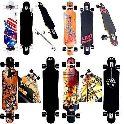 Longboard AREA Zebbie Modell Skateboard  Neu