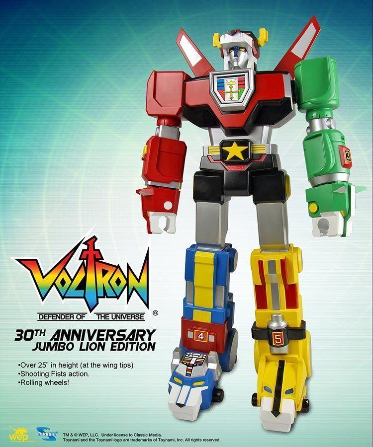 Toynami Voltron 30th aniversario Jumbo León 24 Figura De Acción