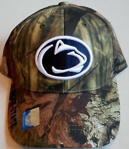 PENN STATE NITTANY LIONS RUSSELL ATHLETIC MOSSY OAK MEN S HAT CAP ... 98870b768302