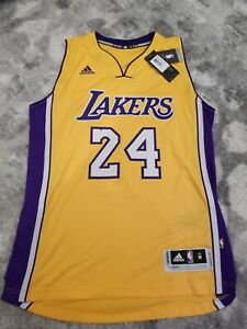 Details about Kobe Bryant SWINGMAN adidas Nba Jersey 24 Medium