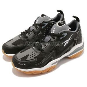 23abf92aa5d7c Reebok DMX Series 1600 Black Grey White Gum Men Casual Shoes ...