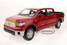 Free ship 1:32 Toyota Tundra Alloy Diecast Model Car Toy Sound&Light Red B1995