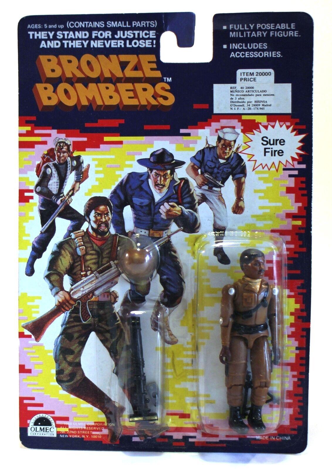 1988 1988 1988 Olmec Corporation Bronze Bombers 3.75