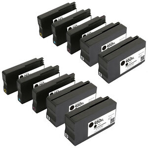 10Pack-for-HP-950XL-951XL-Ink-Cartridge-New-Version-Chip-OfficeJet-Pro-8100-8600