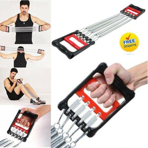 Chest Spring Stretch Workout Expander Fitness Gym Muscle Training Home Exercise