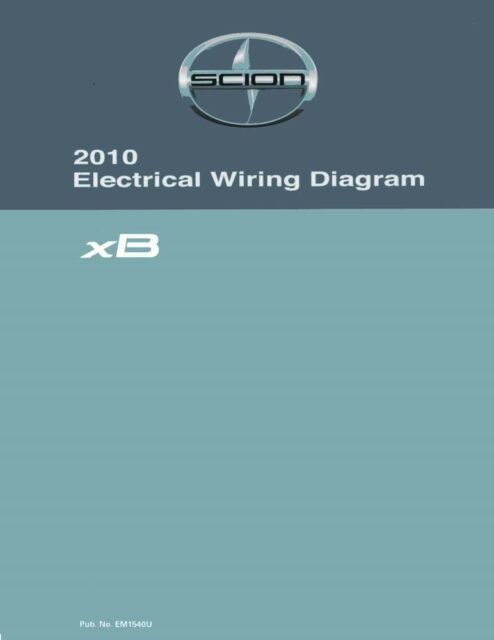 2010 Scion Xb Wiring Diagrams Schematics Layout Factory