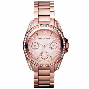 752550153b97 Michael Kors Blair Multifunction Glitz Ladies Watch MK5613 for sale ...