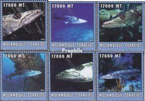 Never Hinged 2002 World Of Marine Sophisticated Technologies Fashion Style Mozambique 2620-2625 Unmounted Mint Animal Kingdom