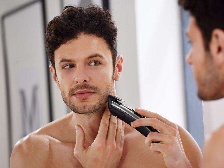 Silvercrest Akku Haar Bartschneider Set Rasierer Trimmer Haarschneidemaschine