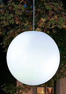 SFERA LAMPADA Snowball per appendere 40 cm