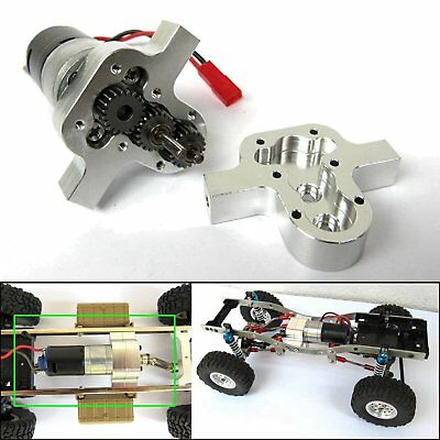 Split-Transfer-Getriebe mit Motor+Servo für WPL B14 B24 B16 C14 1//16 4WD 6WD RC