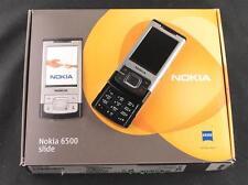 NOKIA 6500 SLIDE - PRISTINE CONDITION - 3MP - 3G - SILVER BLACK - UNBRANDED