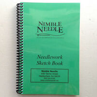Needlework Sketch Book By Nimble Needle Needlepoint Line & Graph Paper Journal