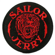 SAILOR JERRY Tattoo My Work Speaks Anchor Logo Sew Or Glue On Patch NEW