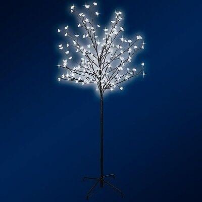 Gartendeko 1,5 m  200 LEDs  Lichterbaum Leuchtbaum Lichterzweig Lichterkette