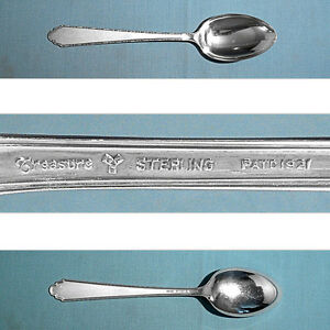 William and Mary by Lunt Sterling Silver Cream Soup Spoon 6 1//2/""