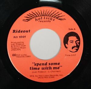 Len Rideout Spend Some Time With Me 45 Bay Area Soul Modern Boogie HLR1001